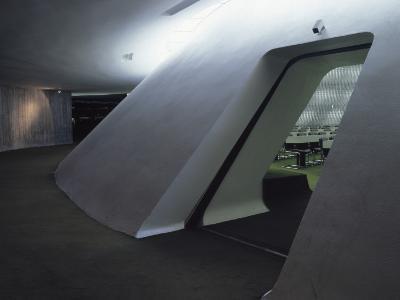 French Communist Party Headquarters, Paris, 1967 - 1972, Architect: Oscar Niemeyer
