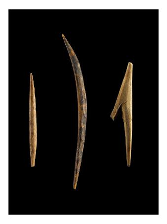 A Small Point, a Small Peak Curve (Hook?) and a Spear