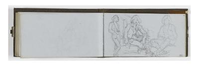 Album: Blank Sheet; Studies, Portrait of a Young Boy