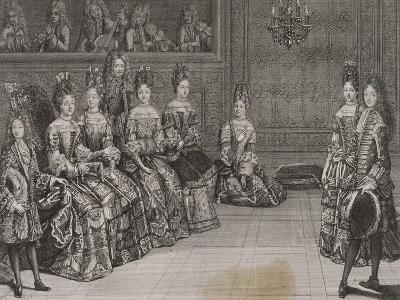 Dance: the Duke of Chartres in the Minuet with Miss