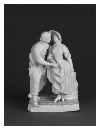Group Earthenware, Boy and Girl, Declaration of Love