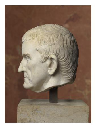 Head: Fragment of a Statue: Portrait of an Unknown