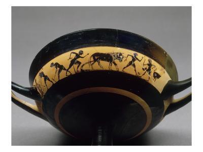 Band Cup Attic Black-Figure Said Cutting Fieldwork