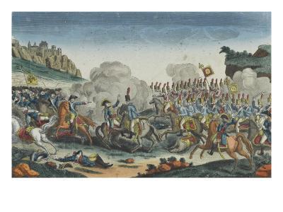 Battle of Saalfeld, Death of the Prince of Prussia
