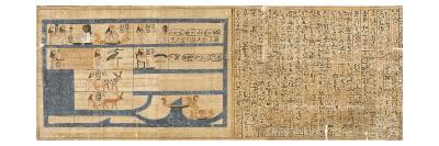 Livre des Morts de la reine Nedjemet