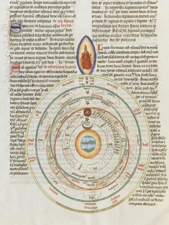 Liber Floridus by Lambert of Saint-Omer: the Universe