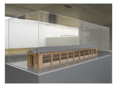 Model of the Orangerie Museum in the Second Empire