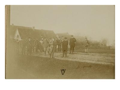 Photo Album: Departure for the Hunt of Gemscheim 1900