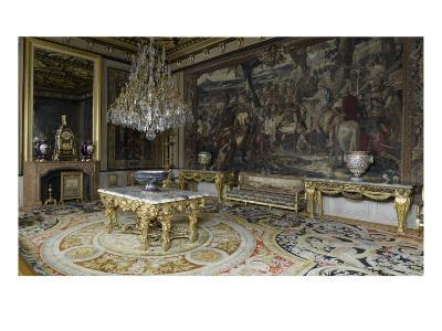 Pope's Apartment, Apartment Louis Xiii, Grand Salon