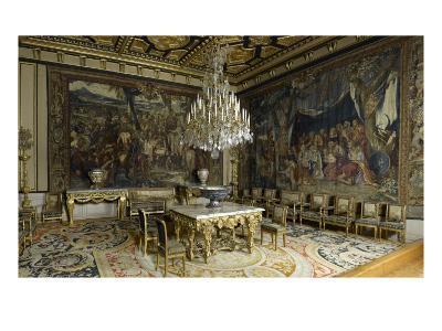 Pope's Apartment, Apartment Louis Xiii, Grand Salon