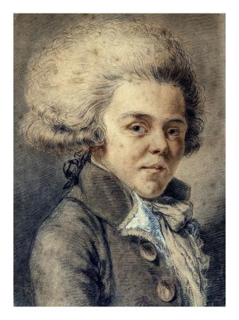 Portrait of Count Rivarol (1753-1801), French Writer