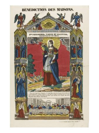 Saint Philomena, Virgin and Martyr, Blessing of Homes