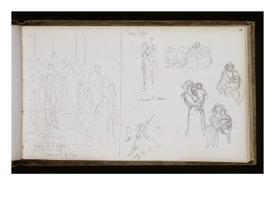 Sketchbook: Release Breton Church, Children in Arms