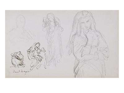 Sketchbook: a Study of Women and Women with Children