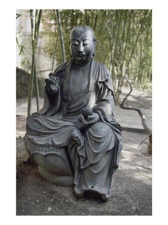 Tea Pavilion, the Museum's Garden Buddhist Pantheon