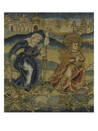 Tapestry of the Legend of Saint Margaret of Antioch