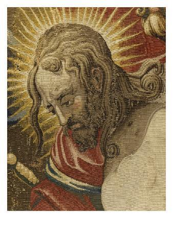 Tapestry: Christ's Head Hanging from the Saint-Merry