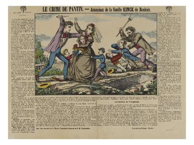The Crime of Pantin: Murder of Family Kinck Roubaix