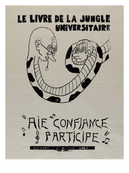 Le Livre De La Jungle Universitaire Aie Confiance Participe Comite D Action U N E F