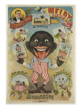 The Original Meldy Imitations Burlesque Negro Music