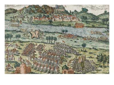 The Passage of the Rhone in Dauphine (March 28, 1570)