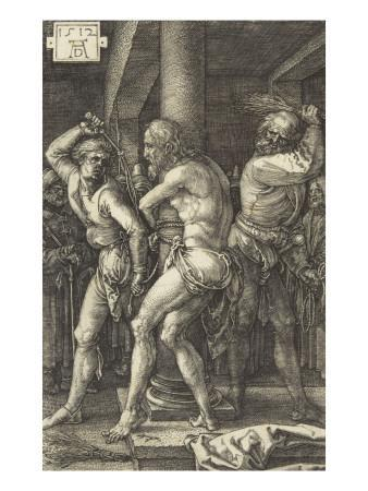The Passion of Christ (1507-1513). the Flagellation
