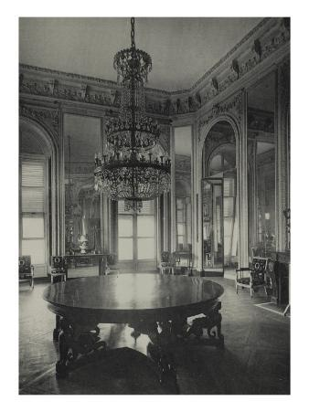 View of Hall of Mirrors at the Grand Trianon, 1900