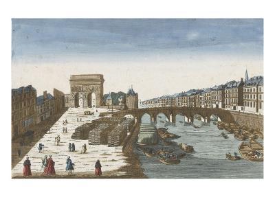 View from the Bridge Tournelle and Door St. Bernard