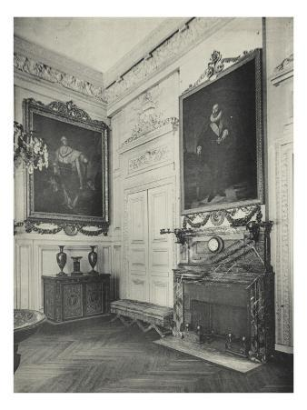 View of Living Expenses of the Grand Trianon, 1900