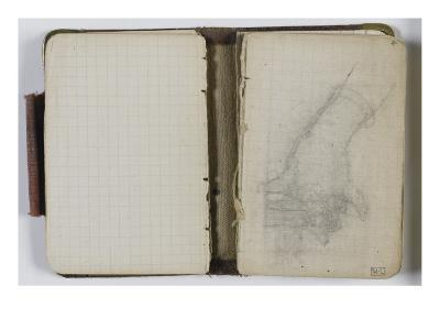 Sketchbook Circa 1865-1870: Folio Virgin Hand Study