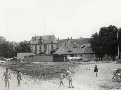 Barracks Bought by the Municipality of Neuf-Brisach, France, to Be Used as Dwellings (1960)
