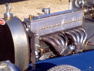 1500 Cm3 Engine with the Compresseur of a Bugatti Type 35, 1928 Model