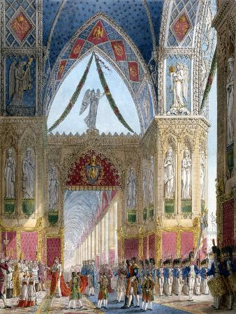 Book of the Coronation by Percier and Fontaine