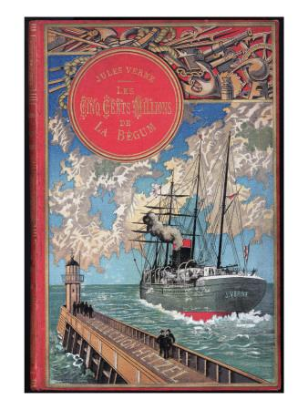 "Jules Verne, ""The 500 Millions of the Begum"", Cover"