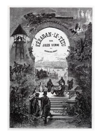 "Jules Verne, ""Keraban the Inflexible"", Frontispiece"