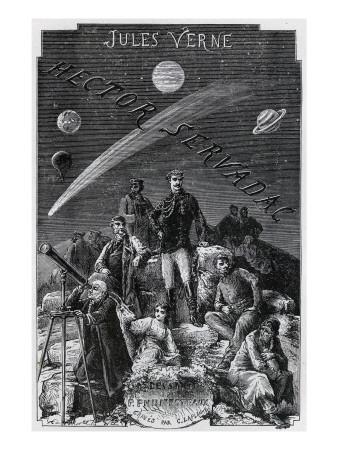 "Jules Verne, ""Hector Servadac"", Frontispiece"