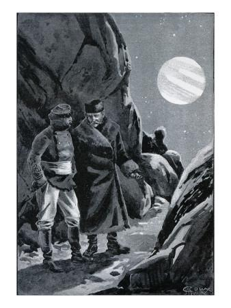 "Jules Verne, ""Hector Servadac"", Illustration"