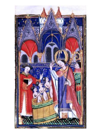 Manuscript of the Rohan-Montauban Hours: The Life of Saint Nicholas