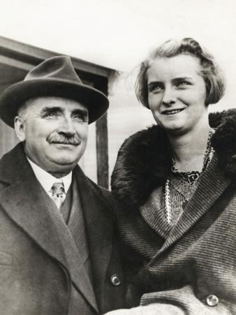 Paul Claudel with Daughter Reine
