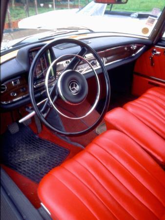 Interior of a Simca Présidence, 1958 Model