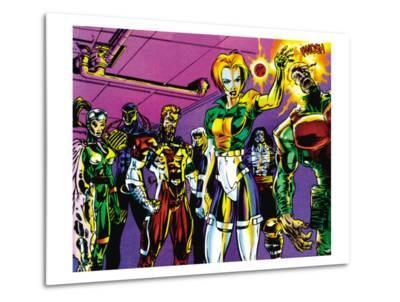 The Official Handbook Of The Marvel Universe Teams 2005 Group: Argento