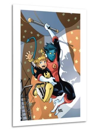 X-Men Power Pack No.3 Cover: Nightcrawler and Energizer