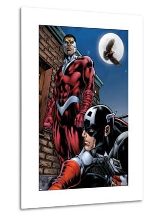 Captain America And The Falcon No.13 Cover: Captain America and Falcon