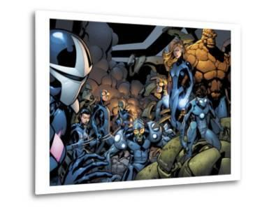 Marvel Team-Up No.18 Group: Mutant 2099, Thing, Dagger, Speedball, X-23 and Gravity