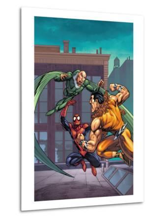 Marvel Adventures Spider-Man No.7 Cover: Spider-Man, Kraven The Hunter and Vulture