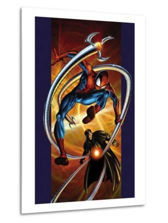 Ultimate Spider-Man No.57 Cover: Spider-Man and Doctor Octopus