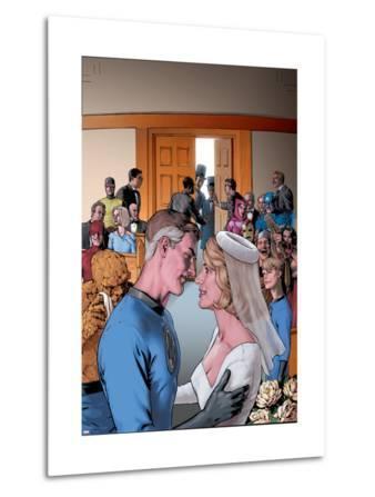 Fantastic Four: The Wedding Special No.1 Cover: Mr. Fantastic