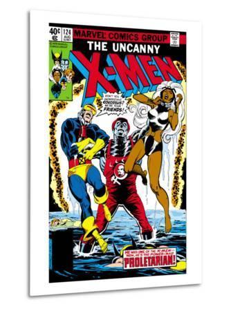 Uncanny X-Men No.124 Cover: Storm, Colossus and Cyclops