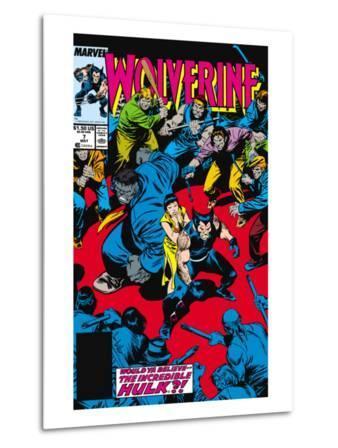 Wolverine No.7 Cover: Wolverine, Hulk and Karma