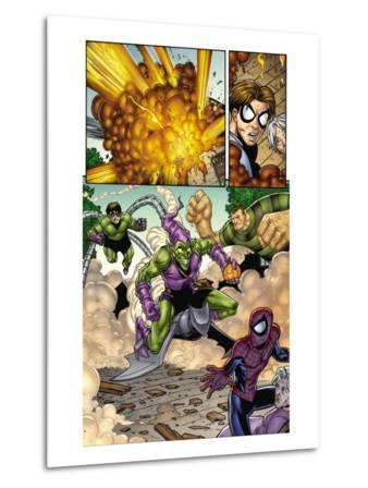 Marvel Adventures Spider-Man No.12 Group: Spider-Man, Green Goblin, Sandman and Doctor Octopus